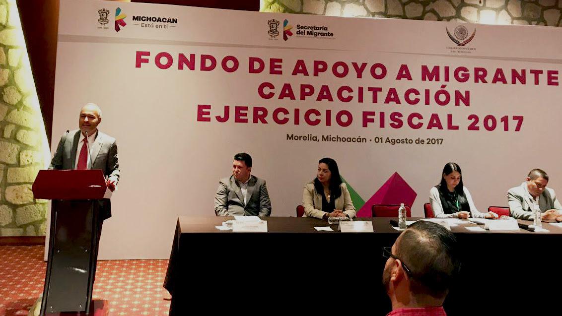 Destina Michoacán 21 mdp para Fondo de Apoyo a Migrantes