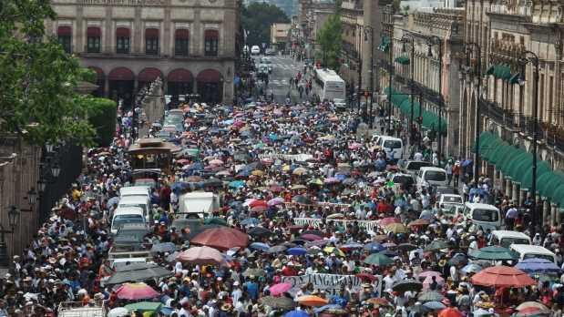 CNTE anuncia nueva megamarcha este lunes; Partirán de los cuatro puntos de la ciudad