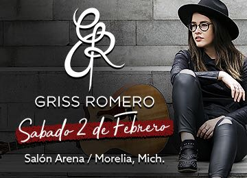 Griss Romero promete enamorar a Morelia con sus covers