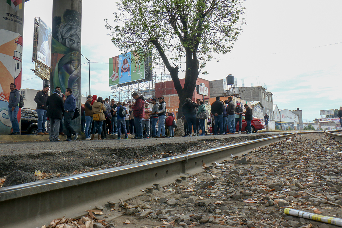 De nueva cuenta se manifestó CNTE por falta de pagos