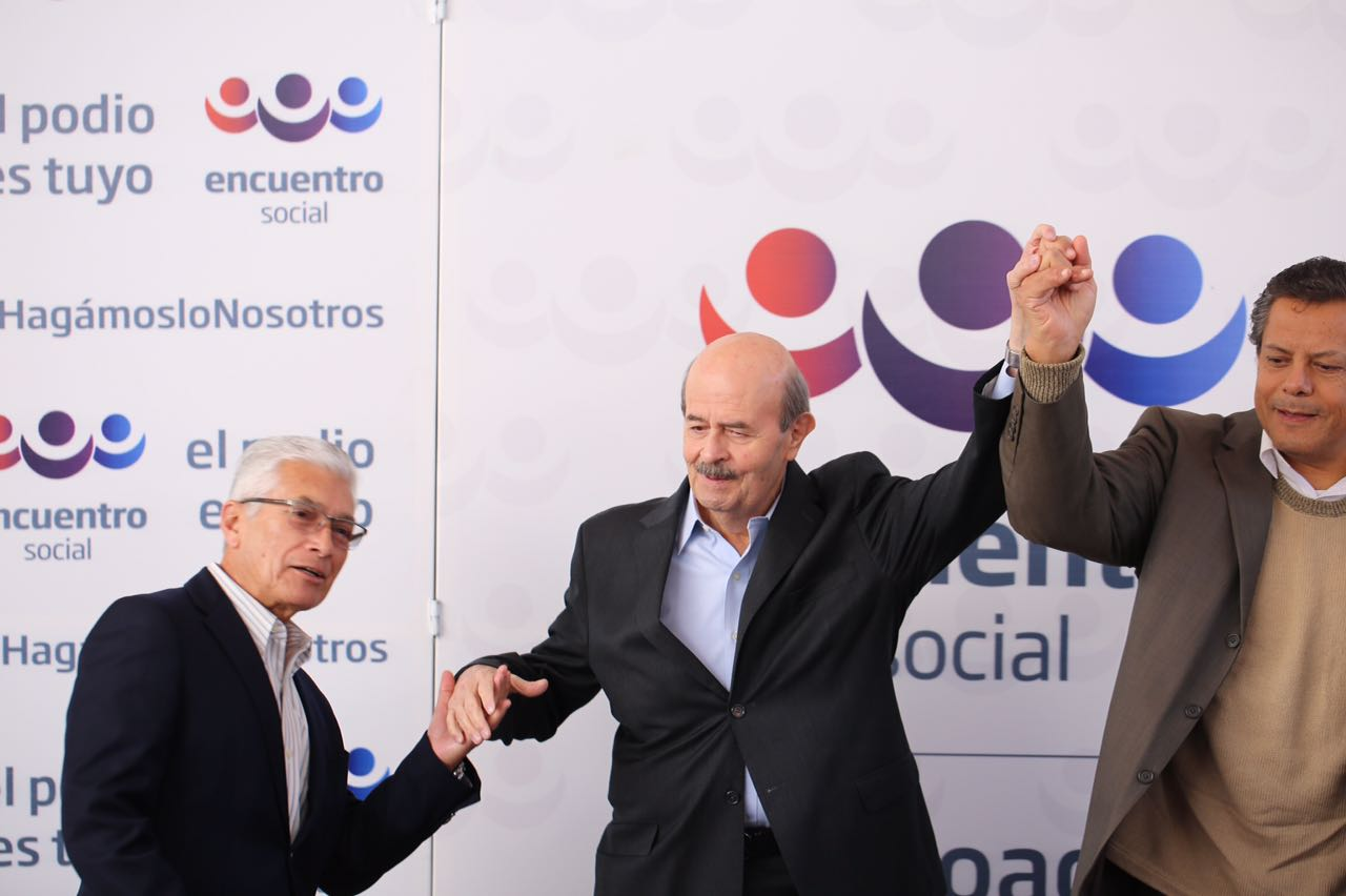 Fausto Vallejo será el candidato del PES y PT
