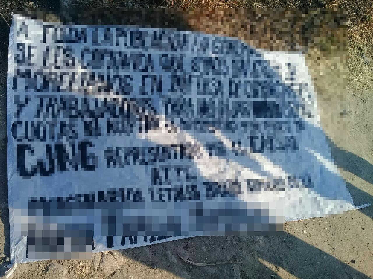 """Este jueves colocaron cinco """"narcomantas"""" en entradas de Morelia"""