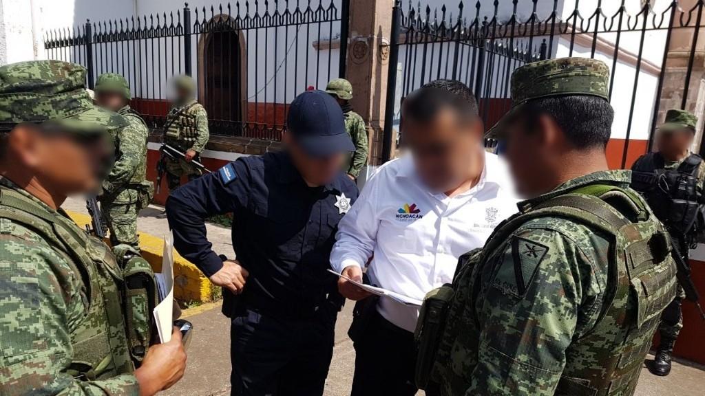 SSP y Ejército Mexicano realizan intensifican patrullajes en Ario