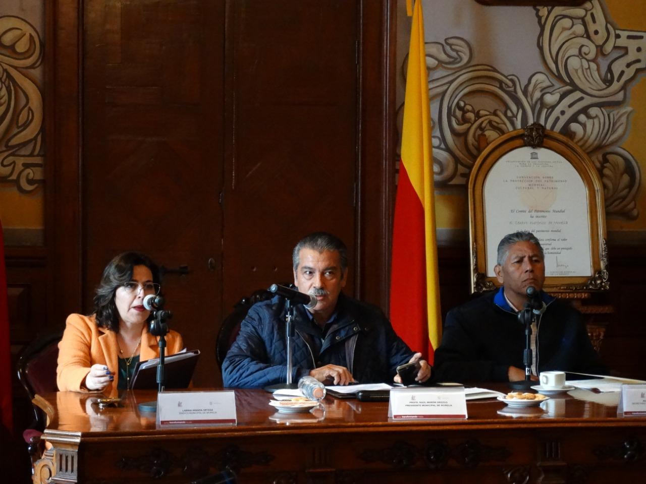 Cabildo de Morelia responsable con el presupuesto para el municipio