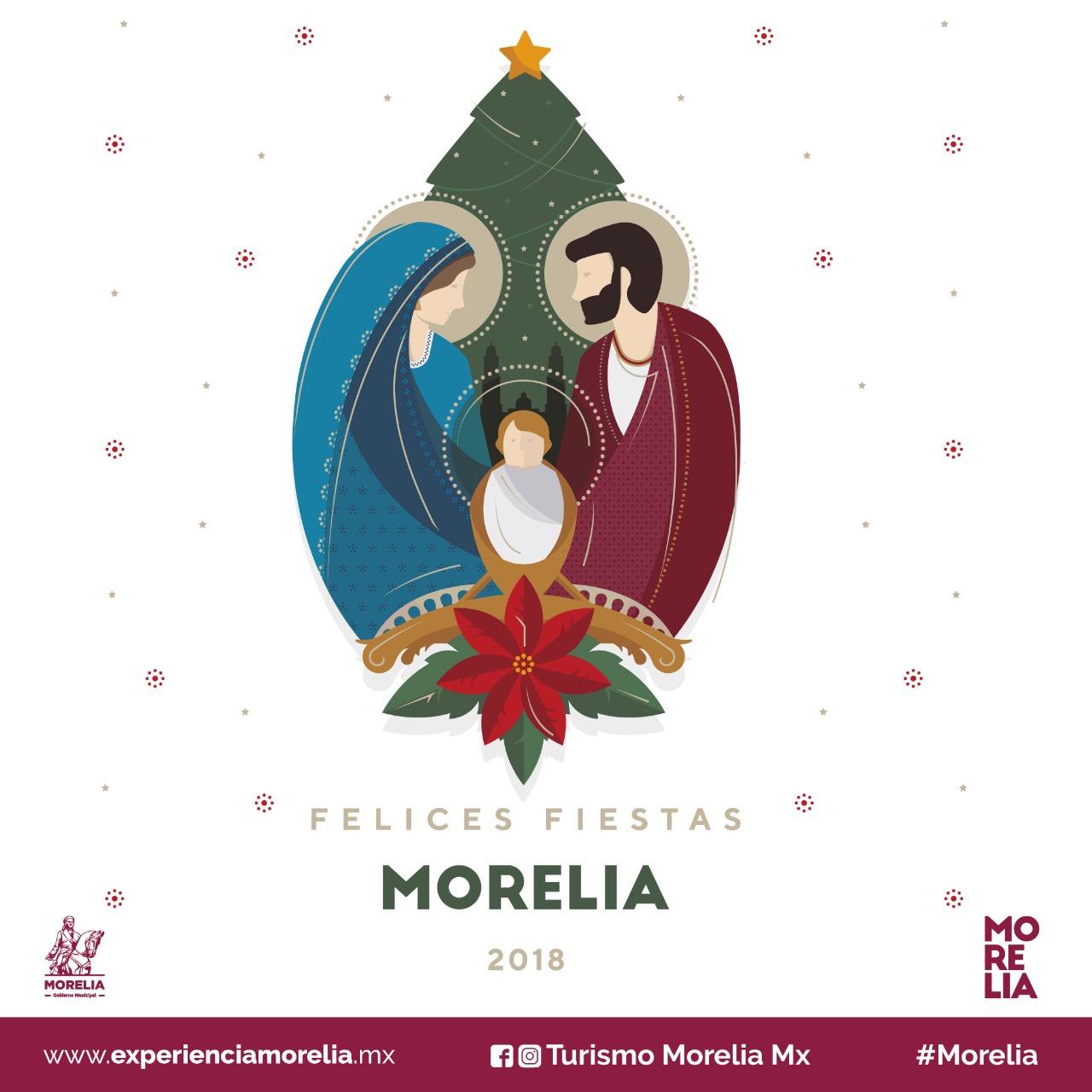 Morelia se alista para tener una Navidad majestuosa.