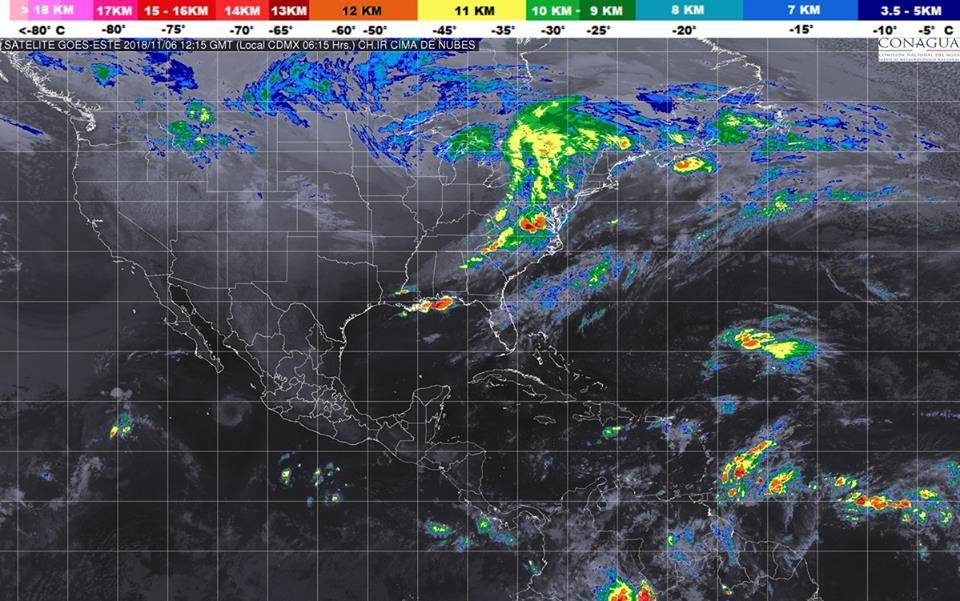 Se prevén lluvias aisladas en Michoacán