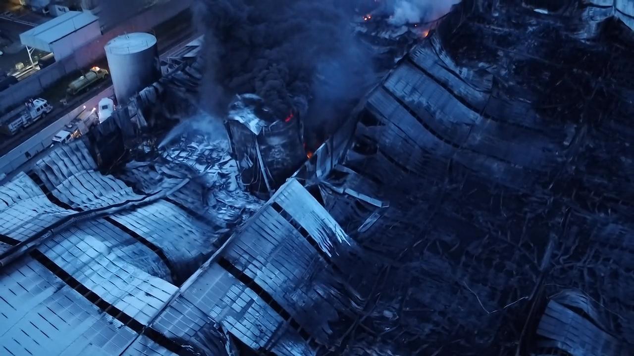 Controlado completamente el incendio en Ciudad Industrial